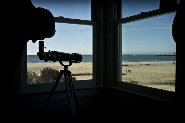 The million-dollar view from the 2012 SRAM Trail House