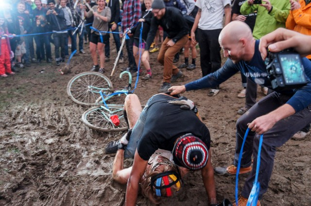 Sportsmanship is a relative term, as evidenced at this year's race. Wedgies, however, are universally hilarious.