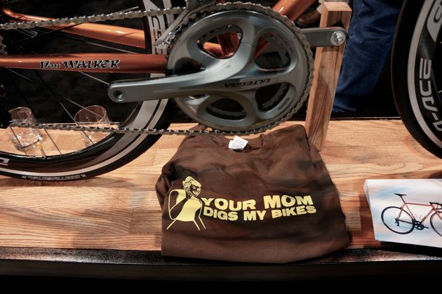 It's true, your mom probably would like NAHBS-founder Don Walker's bikes.