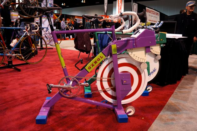 Who said stationary bikes were immune to the NAHBS treatment?
