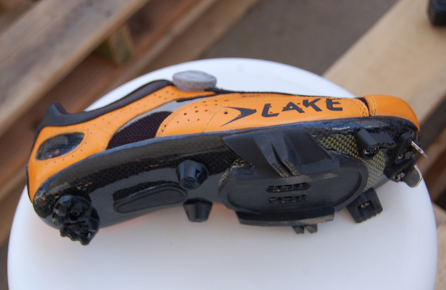 Lake Cycling is relaunching its line in the U.S. market including this cyclocross specific shoe.