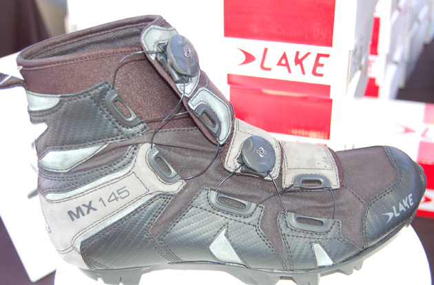 Lake Cycling's new MX 145 spring/fall training shoe aims to keep your toes toasty and dry on early and late season rides.