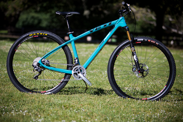 The all new carbon ARC is a modernized version of Yeti's infamous race hardtail