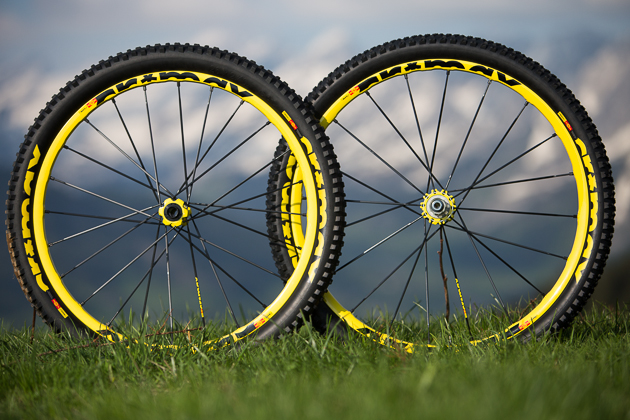 Crossmax Enduro wheel-tire system. Available in any color, as long as it's yellow.
