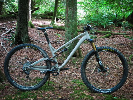 The Process 111, one of three new bikes in the range, offers 111 millimeters of rear wheel travel, rolling on a pair of 29er hoops.