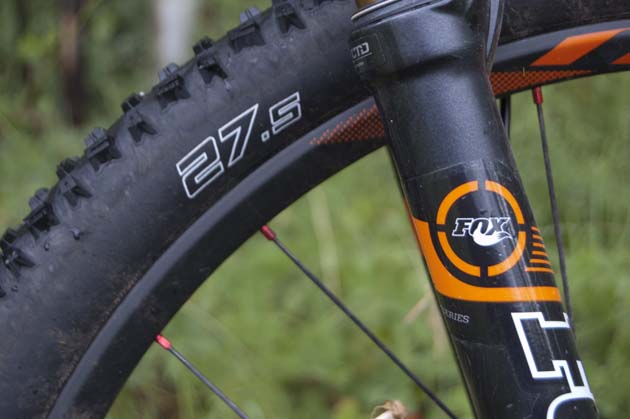 Get used to seeing this on mountain-bike tires