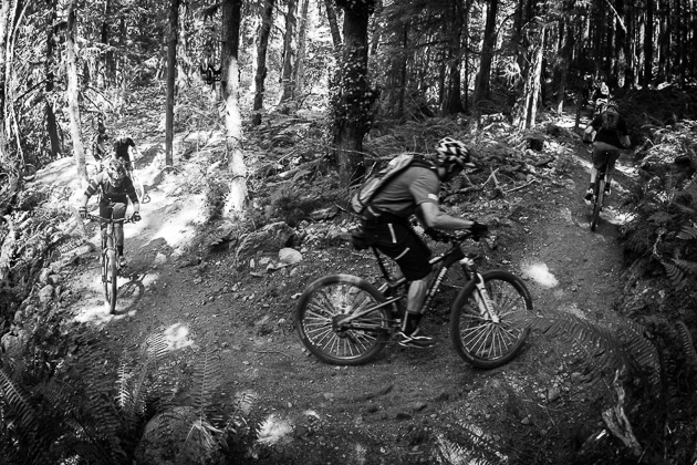 After just a few days of Crankworx debauchery, even the shortest climbs in Squamish can feel like a death march. Photo: David Reddick