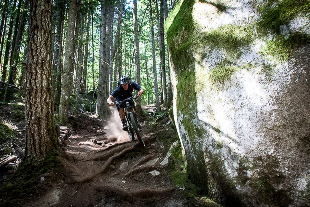 Who needs taurine when you've got a 29er? Even though it was his second big ride of the day, Hunter still had plenty of taurine-free energy. Photo: David Reddick