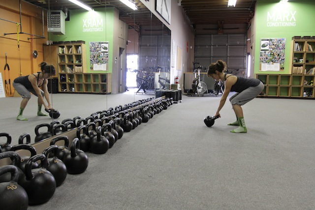This is really the biggest bang for your buck hip power move with kettlebells, if you do it correctly.