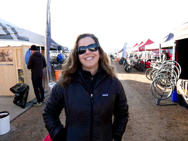 The creator of Outerbike, and Western Spirit owner, Ashley Korenblat.