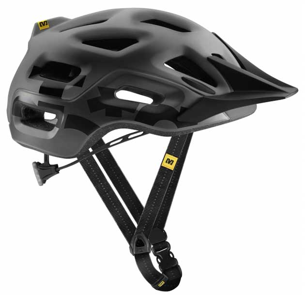 If you aren't digging the Notch in its yellow version, Mavic also offers it in this sleek black and a pretty cool white and black option.