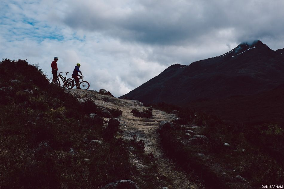 Despite its relatively small size, Scotland has a marvelous variety and quantity of trails. Photo: Dan Barham