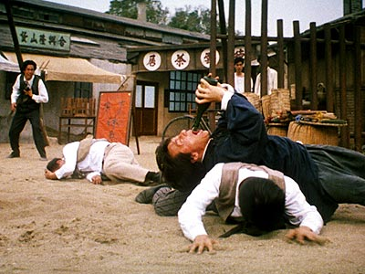 "Really, if you haven't seen Jackie Chan's Drunken Master 2 (called ""The Legend of Drunken Master"" in the states), you need to correct that and right quick. Look up the word ""classic"" in Webster's and this is the photo that accompanies the definition."