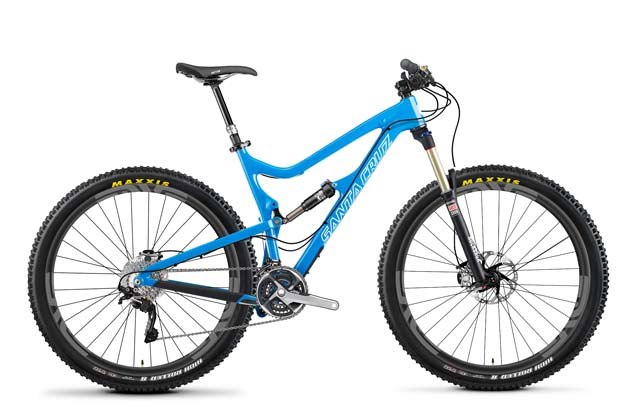 Up for grabs--any Santa Cruz model you desire (Tallboy, Bronson, 5010, you name it, decked out in Fox, Shimano and ENVE Composites wheels.