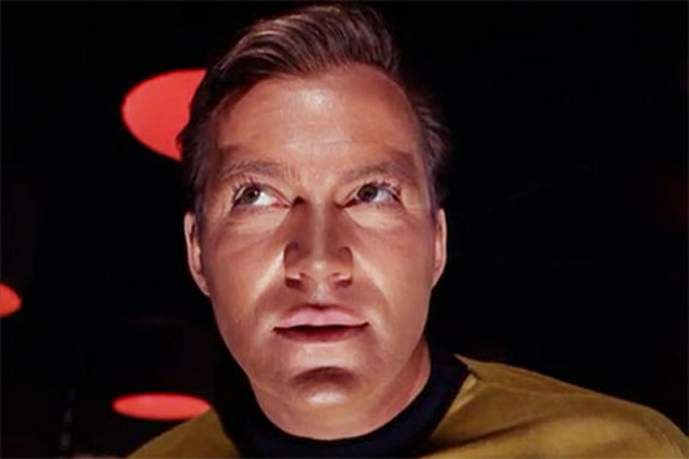 "Yet another picture of Captain Kirk? Yeah. Well, it'll make sense in about a paragraph or so. Maybe. And, yes, this is ""Evil Kirk""."