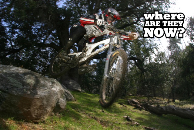 Derin Stockton transitioned to a career as a DH racer after a short stint as a road racer in Europe and North America.