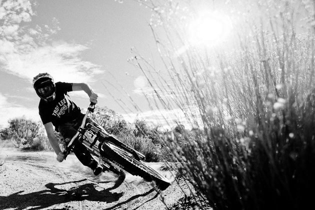 Pumping through the trail can help generate speed and momentum, and eliminate the need for pedaling like a madman through turns.