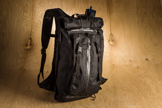 San Francisco-based pack and clothing brand, Mission Workshop, is most known in the urban commuter segment, but the Hauser 14L pack, along with the company's mountain-bike-specific ACRE products, are quickly cementing them in the off-road world.