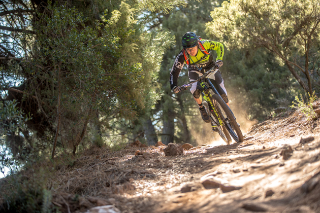 If Osborne hadn't reconnected with his old friend, Ben Cruz (pictured above), he probably wouldn't be racing enduro—and he almost certainly wouldn't be riding for Cannondale. Photo by Ale di Lullo.