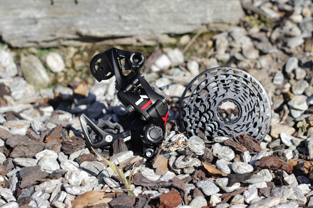 The entire drivetrain is optimized to work as one system but the unique parts are the derailleur and cassette.