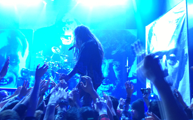 Rob Zombie live in Taipei, Taiwan? Yep. In the flesh. Pun intended.
