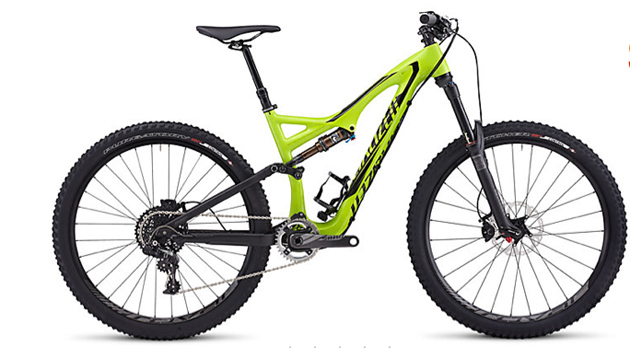 The FSR Expert Carbon EVO 650B comes with a SRAM X01 drivetrain and a RockShox Pike fork.