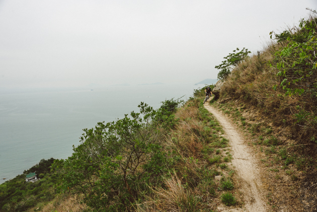 In Hong Kong, the singletrack is rarely far from the sea.