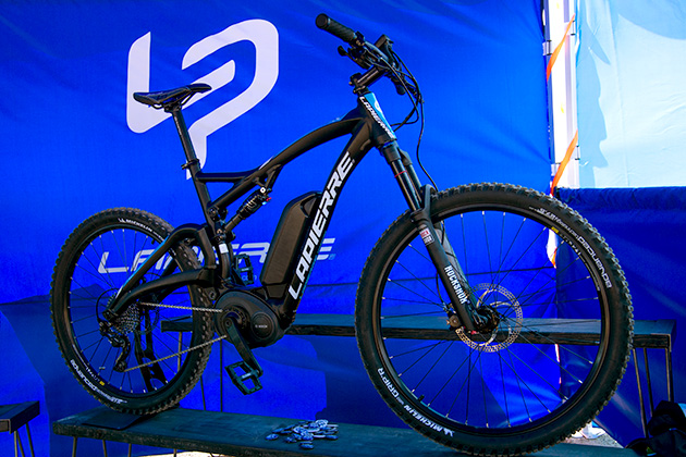 They've been on pavement, now they're on dirt, whether you like it or not. Lapierre has jumped on the growing electric mountain bike scene with the Overvolt FS 900. The Bosch battery lasts two to three hours, equating to 20 to 60 miles.
