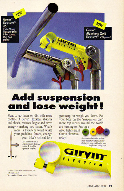 Nope, no compromises in performance here at all...just one of many cycling products that has been marketed with ridiculous claims over the years.