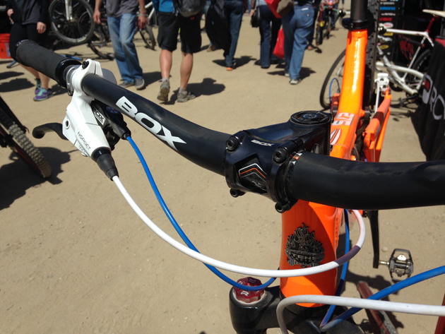 Box's extensive line of stems and handlebars should be available by the end of the year.