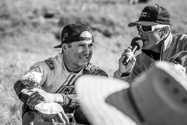 Legendary racer Dave Cullinan came off the couch and qualified for the men's pro finals. He was a fan favorite throughout the rounds, but an untimely crash took him out of contention.