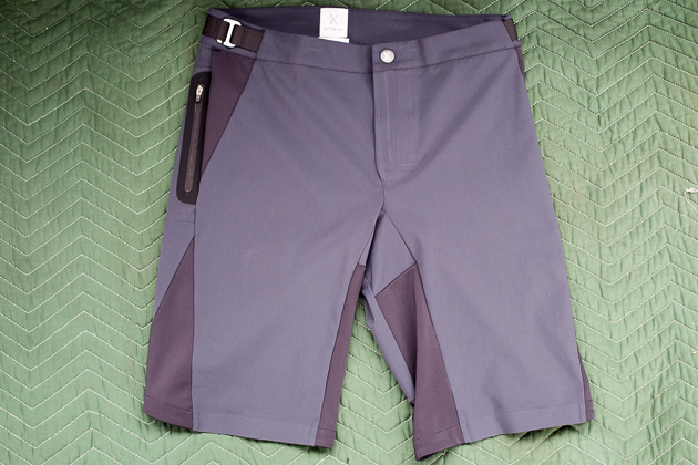 Kitsbow offers a full line of quality apparel. Yes, it's pricey, but Kitsbow believes in making durable wears and backing them with excellent support. The new Ventilated Short uses a light, yet tough Schoeller soft shell fabric, zippered side pockets, and an articulated shape for proper fit on the bike. The adjustable waisted shorts will be available from XS to XXL for $240.