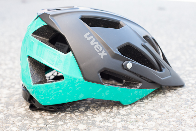 The Uvex Ibex Quatro helmet's stylish design caught our eye, but it's not just about looks. This lid is seriously comfortable, thanks in part to a 360 degree retention system. Available for $160.