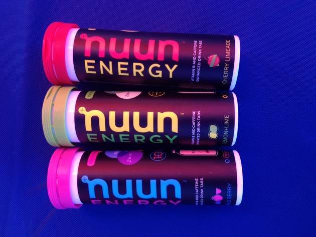 Drink too much last night? Pop a Nuun Energy tablet in your water bottle and you'll feel like you never drank that fourth shot of tequila. Nuun Energy rules at hydration, both on and off the bike, and now packs in 40 milligrams of caffeine and B vitamins for extra pep.