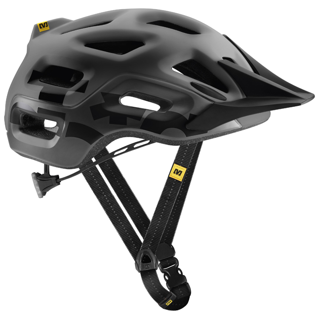 The well-conceived Notch helmet, first introduced last year, features broad occipital-lobe coverage and is well ventilated, with 18 vents that allow for considerable airflow.
