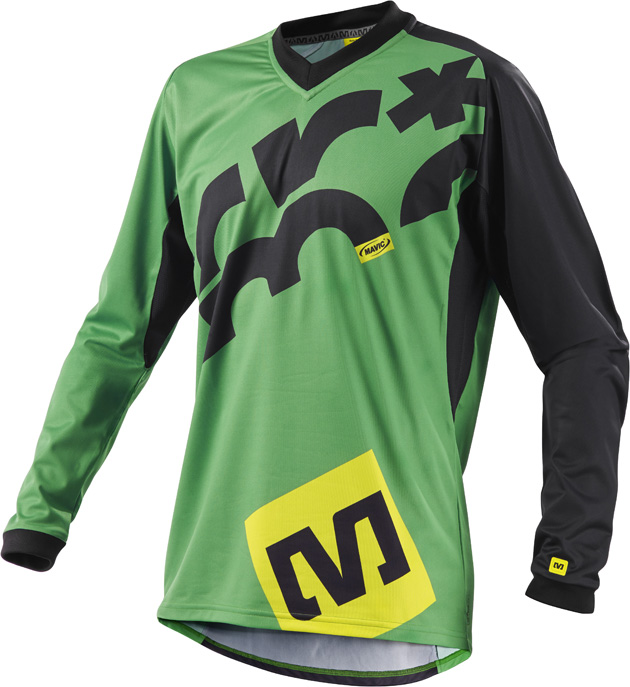 The Crossmax LS jersey has been updated for 2014, with a change in fabric to increase abrasion resistance and help prevent it from snagging on trailside objects.