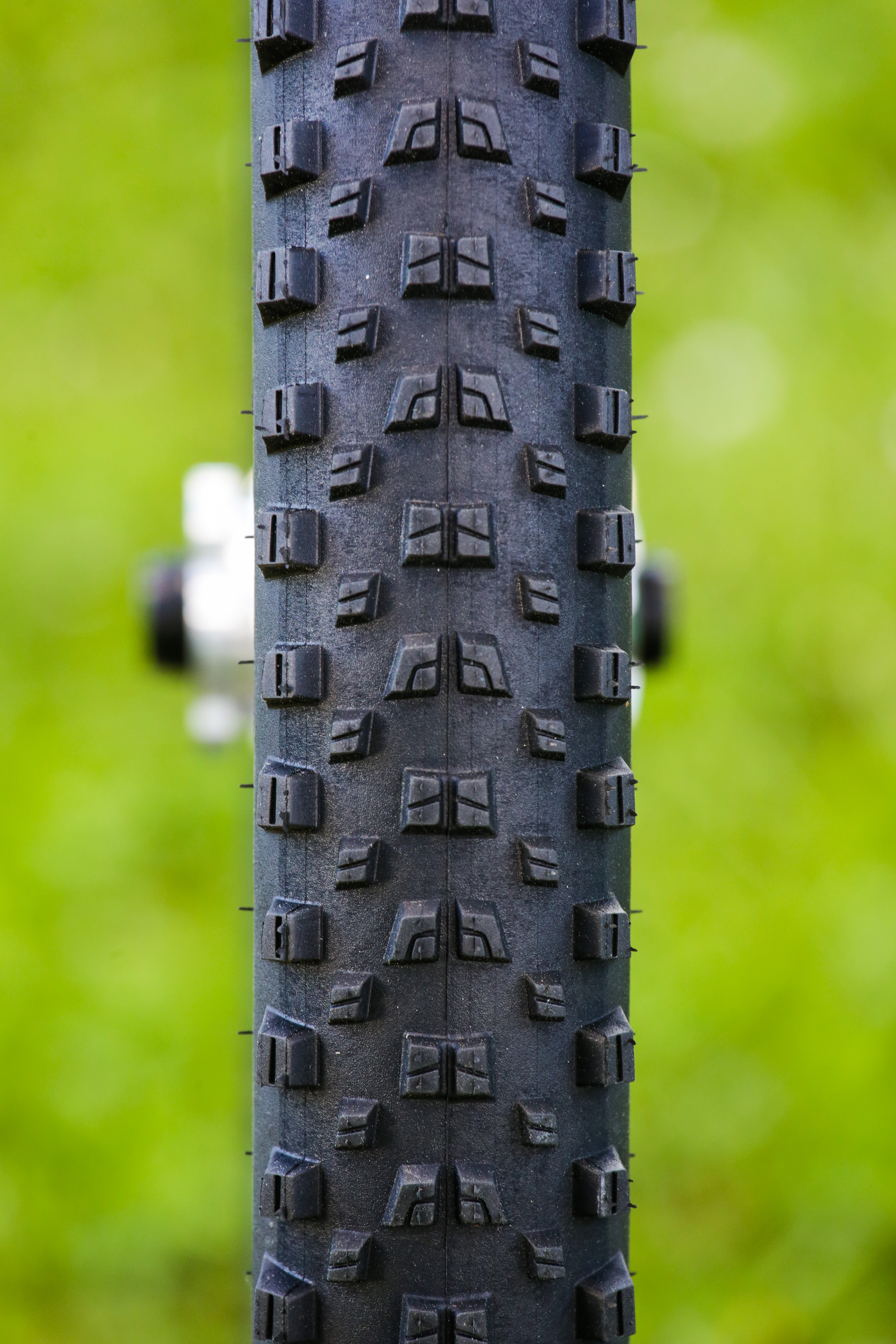 The new Mavic Crossmax Quest Tires come in widths of 2.4, front and back, for maximum purchase in burly conditions. These tires hooked up reliably in a wide variety of conditions—from dry-and-dusty alpine topsoil to loose rock and extended granite sections—but after four days of ridiculous abuse the treads definitely were worn down. These tires would need to be tested side-by-side with other companies' models in the same conditions to determine their comparative longevity. It would be easy to say that the Quest tires wear quickly, but we were riding in some seriously burly conditions—including numerous stages from the notoriously chunky Trans-Provence stage race—so a considerable amount of wear should probably be expected.
