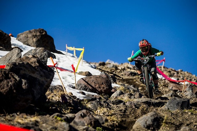 Martin took 8th place in the first Enduro World Series race this season in Chile.