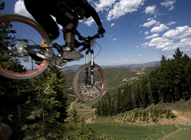 Deer Valley boasts some sick DH trails.