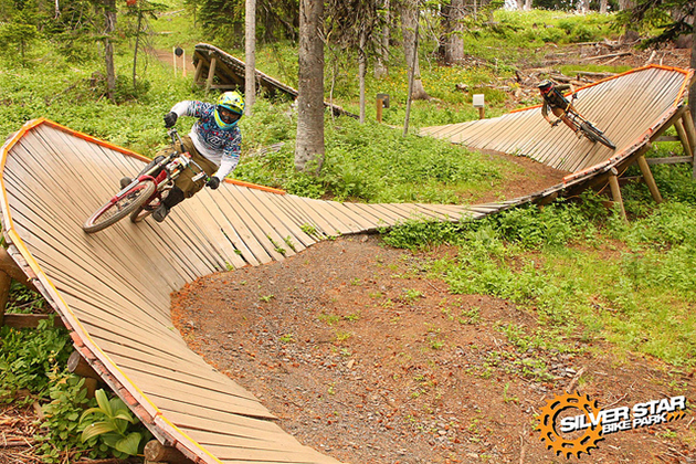Photo courtesy Silver Star Bike Park
