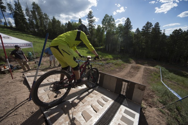 All must start somewhere. | Photo courtesy of Angel Fire Bike Park