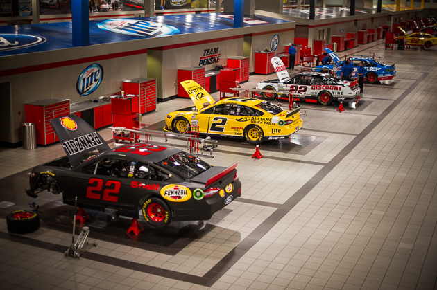 Penske makes suspension for the highest level of motorsport. In addition to making custom suspension here, they also build race cars from the ground up. It's an impressive operation that  makes me think we're a whole lot more redneck than NASCAR.