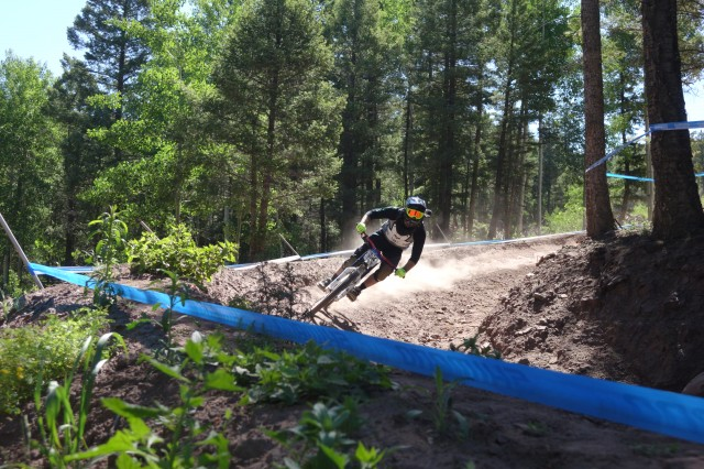 For those looking for speed, the Nationals course at Angel Fire would not disappoint. | Photo courtesy of Angel Fire Bike Park