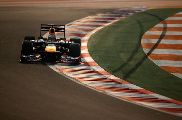 Kerbing is harsher than it might seem. Photo courtesy of Getty Images/Red Bull.