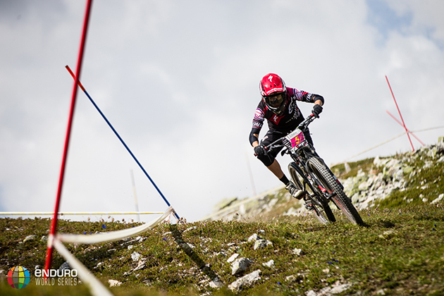 Anneke Beerten on the third stage of day 2. | Photo by Matt Wragg