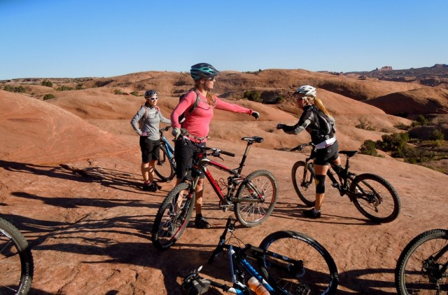 Moab ride camp