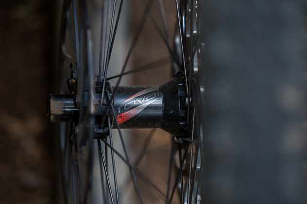 The rear hub is essentially a DT 240.