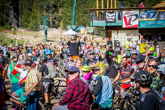 200 racers gathered in the Sierra Mountains near Huntington Lake for round 2 of the 2014 California Enduro Series–the VP EnduroFest at China Peak Mountain Resort in Lakeshore.