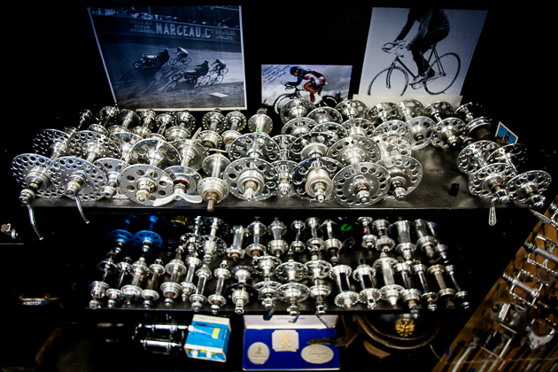 photo gallery speedplay pedal and parts museum bike magazine a mere slice of bryne s vast vintage hub collection