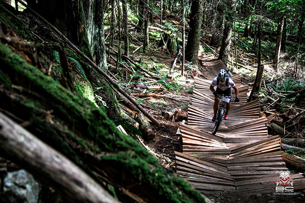 Man made constructions for your riding pleasure.   Photo by RavenEyePhoto